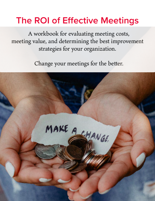 The ROI of Effective Meetings download