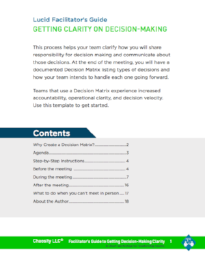Download the Getting Clarity on Decision Making Guide