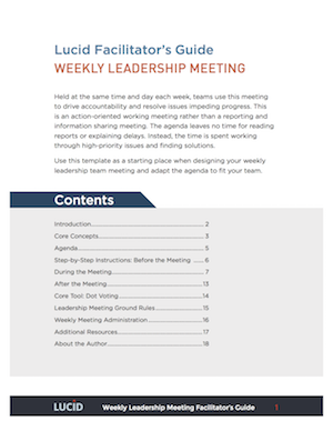 Download the pdf weekly leadership team meeting facilitators guide weekly leadership meeting guide maxwellsz